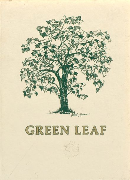 1986 Greenwich Academy Yearbook Cover