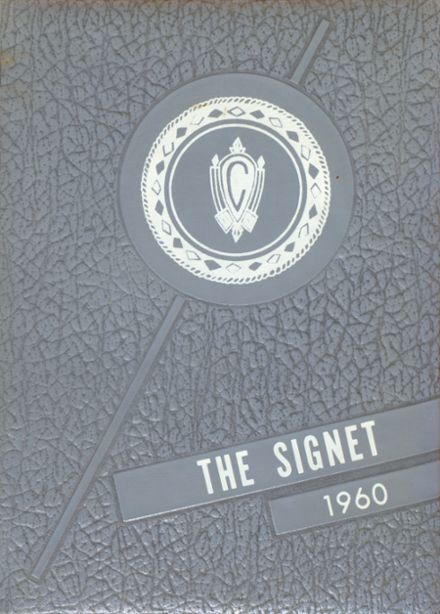 1960 Charlotte Catholic High School Yearbook Cover