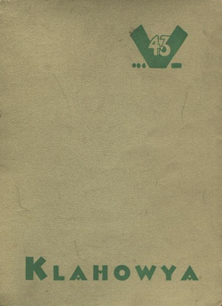 1943 Clover Park High School Yearbook Cover
