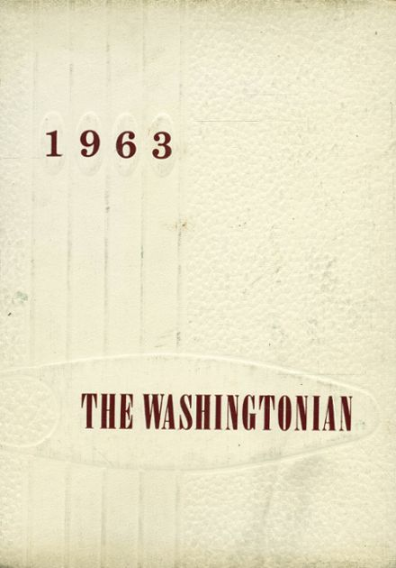 1963 Booker T. Washington High School Yearbook Cover