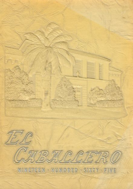 1965 St. Mary's High School Yearbook Cover