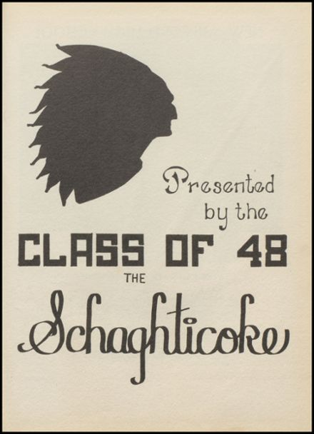 1948 New Milford High School Yearbook Page 5