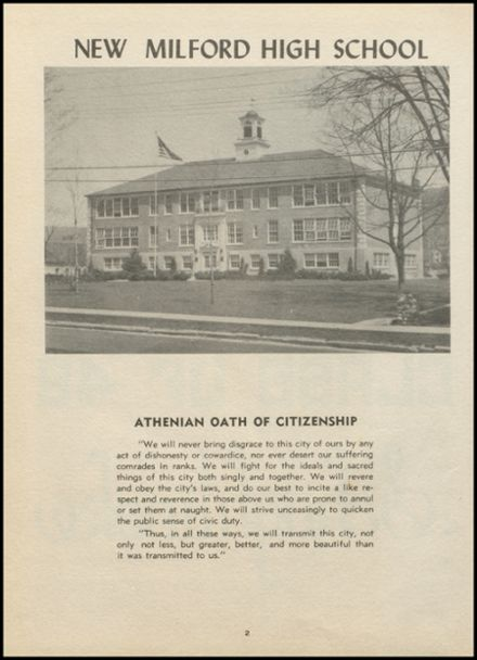 1948 New Milford High School Yearbook Page 6
