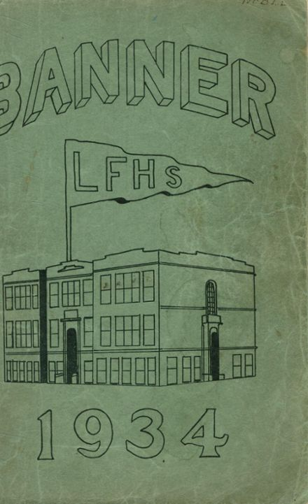 1934 Livermore Falls High School Yearbook Cover