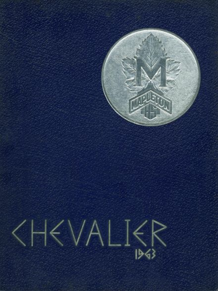 1963 Mapleton High School Yearbook Cover