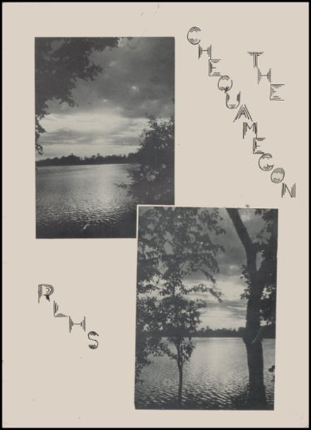 1946 Rib Lake High School Yearbook Page 5