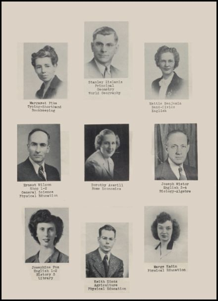 1946 Rib Lake High School Yearbook Page 8
