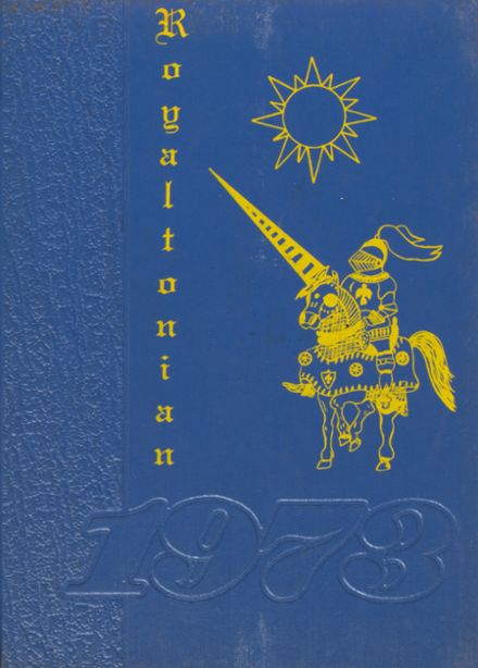 1973 South Royalton High School Yearbook Cover