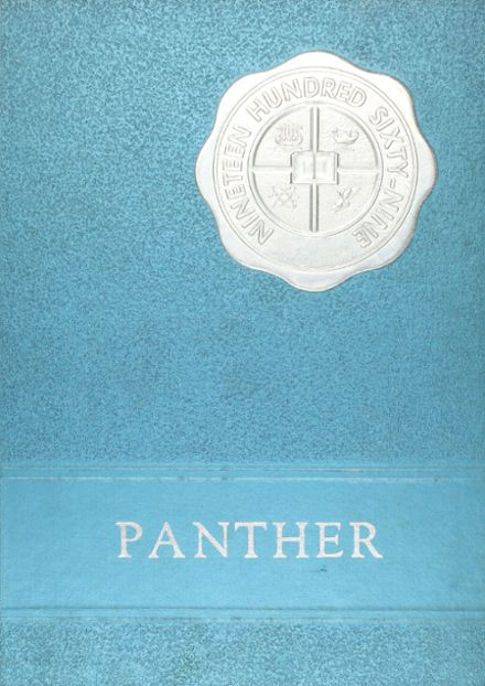 1969 Spring Hill High School Yearbook Cover