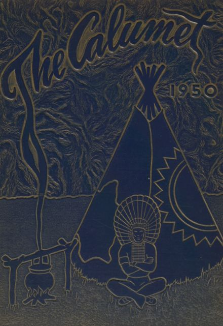 1950 Clayton Central School Yearbook Cover