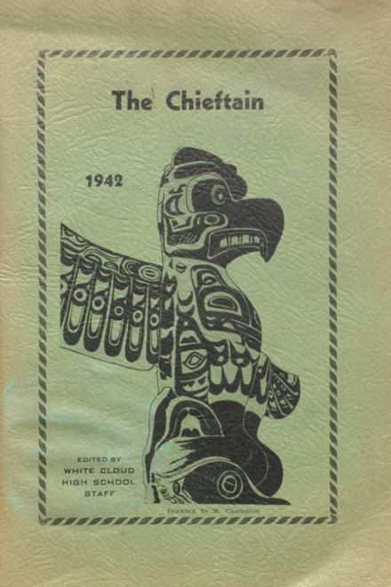 1942 White Cloud High School Yearbook Cover