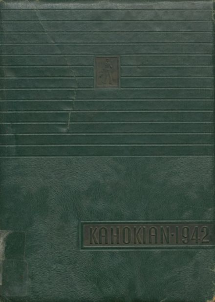 1942 Collinsville High School Yearbook Cover