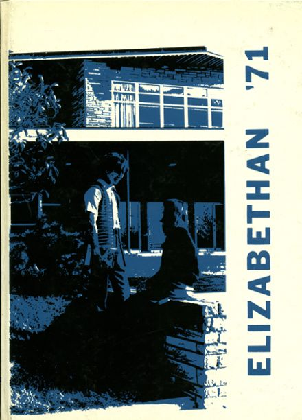 1971 Elizabethtown Area High School Yearbook Cover