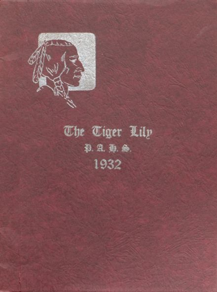 1932 Port Allegany High School Yearbook Cover