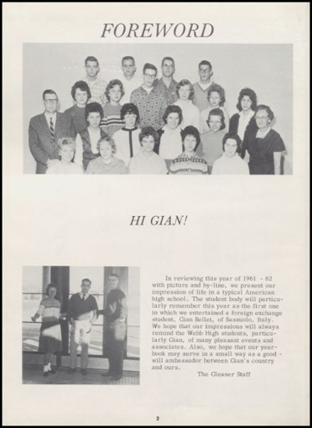 1962 Reedsburg High School Yearbook Page 6