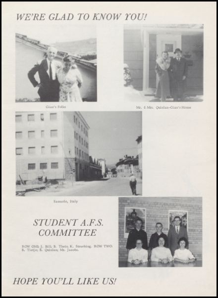 1962 Reedsburg High School Yearbook Page 7
