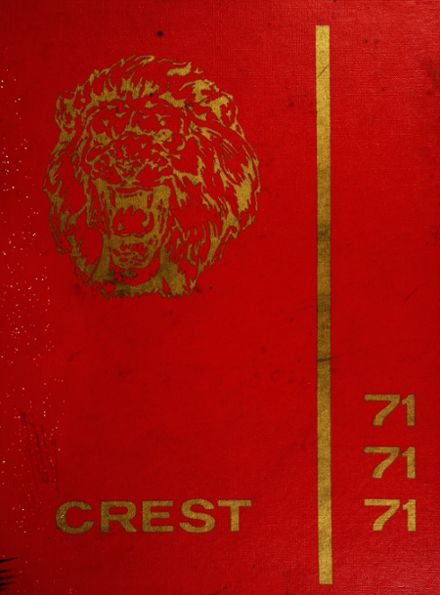 1971 Penncrest High School Yearbook Cover
