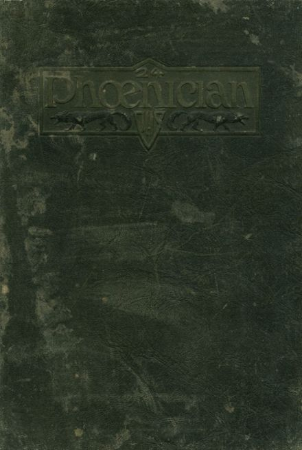 1924 Phoenix Union High School Yearbook Cover