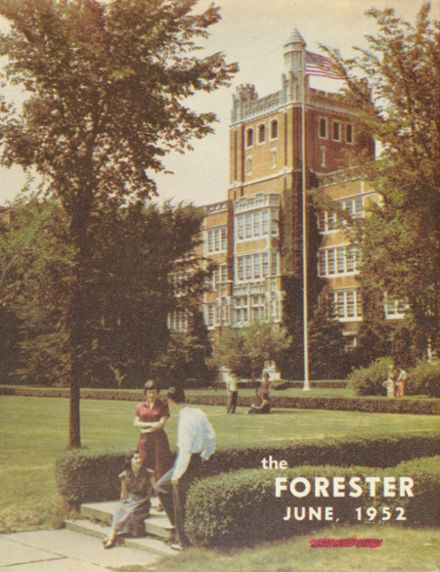 1952 Forest Park High School 406 Yearbook Cover