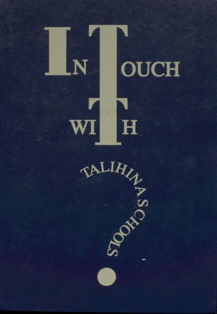 1996 Talihina High School Yearbook Cover
