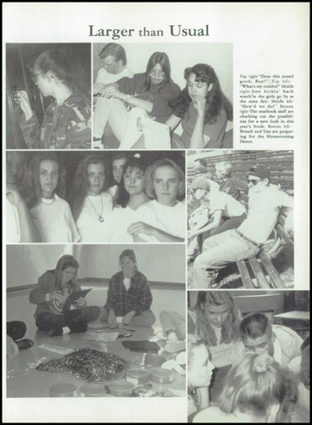 1994 Mogollon High School Yearbook Page 5