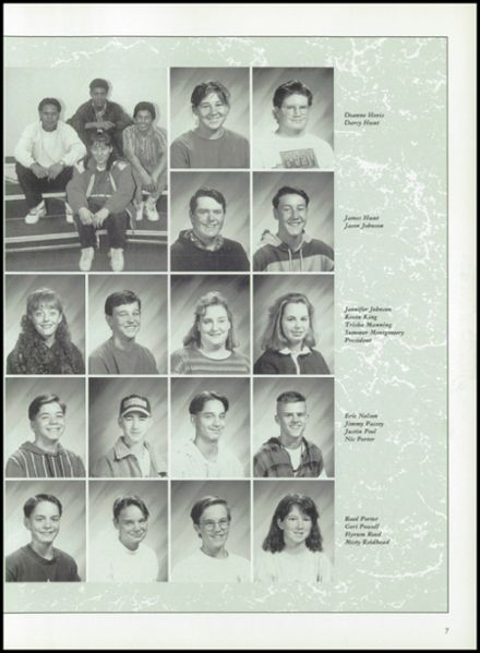 1994 Mogollon High School Yearbook Page 9