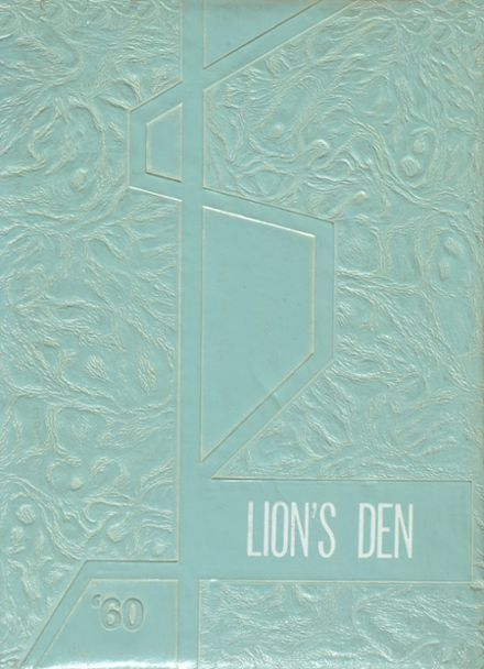 1960 Leeds High School Yearbook Cover