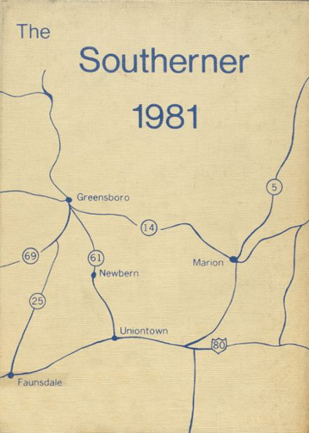 1981 Southern Academy Yearbook Cover