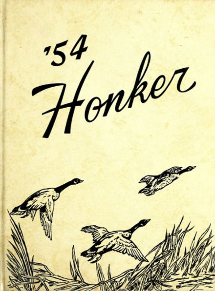 1954 Medicine Lake High School Yearbook Cover