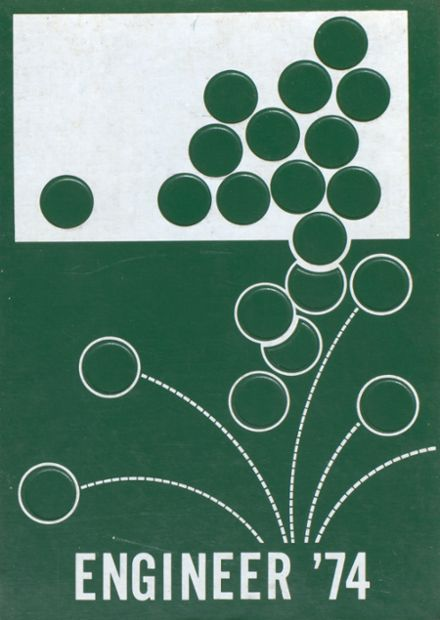 1974 Woodsville High School Yearbook Cover
