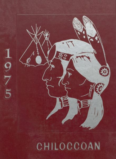 1975 Chilocco Indian School Yearbook Cover