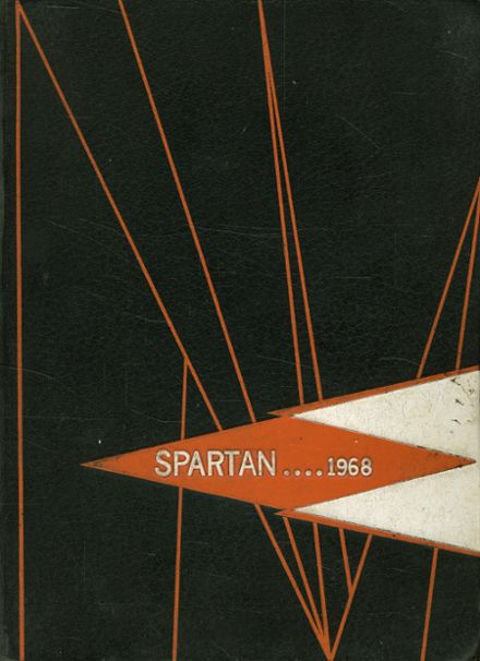 1968 Stratford High School Yearbook Cover