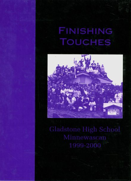 2000 Gladstone High School Yearbook Cover