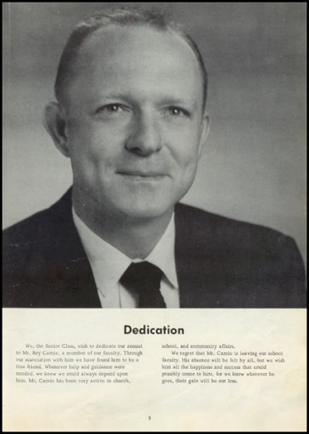 1958 Old Kentucky Home High School Yearbook Page 7