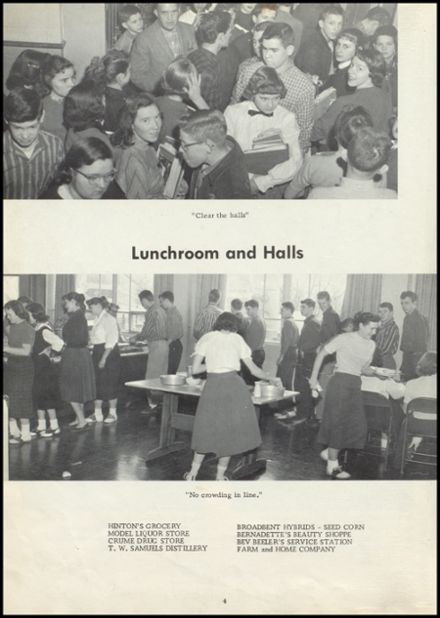 1958 Old Kentucky Home High School Yearbook Page 8