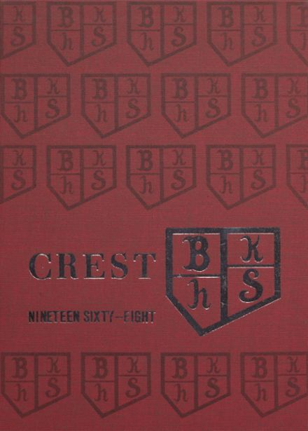 1968 Bishop Kelley High School Yearbook Cover