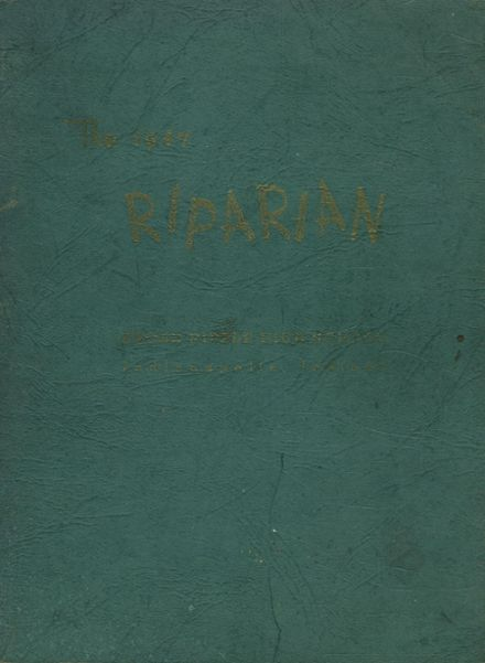1947 Broad Ripple High School 717 Yearbook Cover
