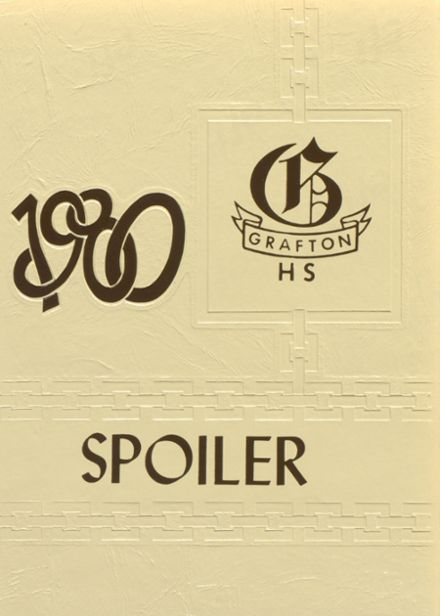 1980 Grafton High School Yearbook Cover