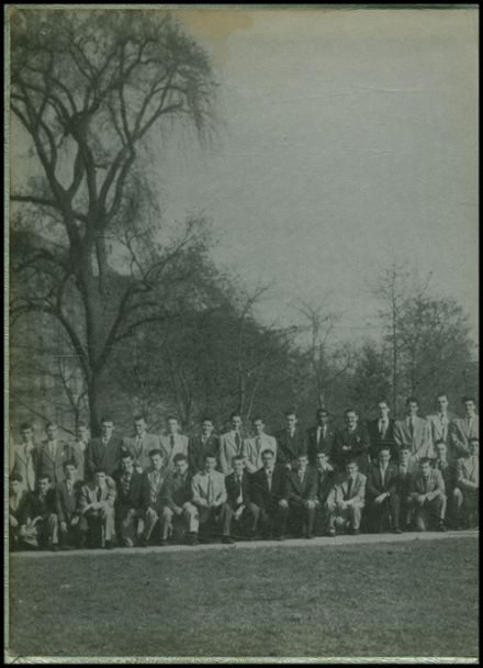 1951 All Hallows High School Yearbook Page 2