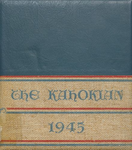 1945 Collinsville High School Yearbook Cover