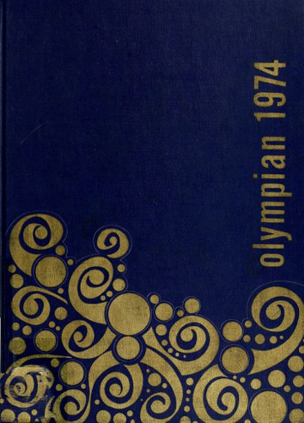 1974 Grantham High School Yearbook Cover