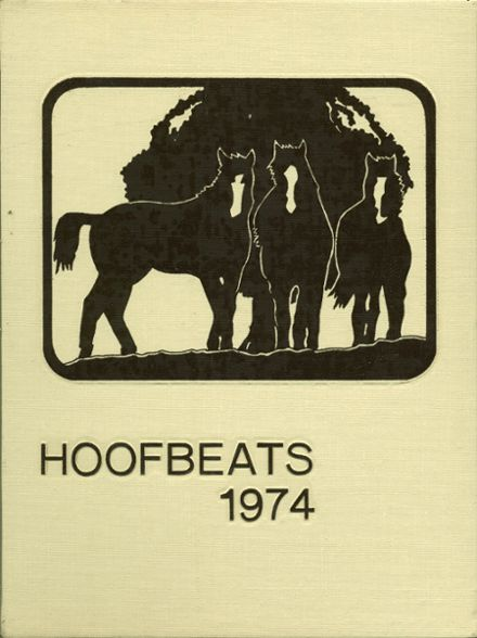 1974 North High School Yearbook Cover
