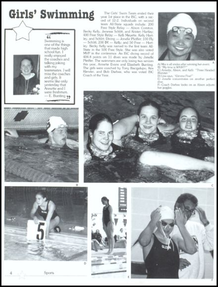 1998 John Glenn High School Yearbook Page 8
