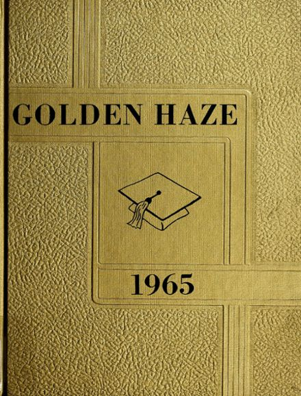 1965 Akron High School Yearbook Cover