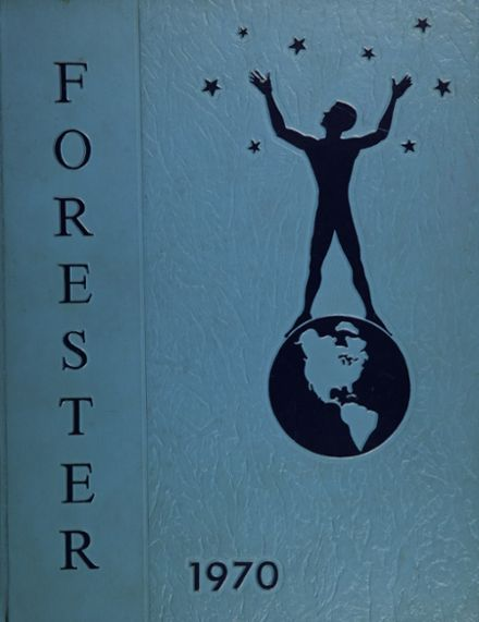 1970 Forest Park High School 406 Yearbook Cover