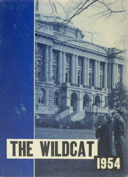 1954 Springfield High School Yearbook Cover