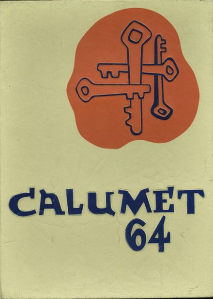 1964 Clairemont High School Yearbook Cover