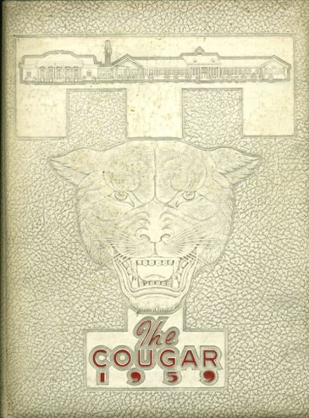1959 Tomball High School Yearbook Cover