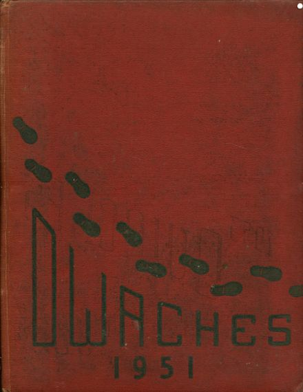 1951 Ontario High School Yearbook Cover