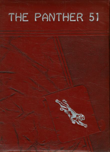 1951 Siloam Springs High School Yearbook Cover